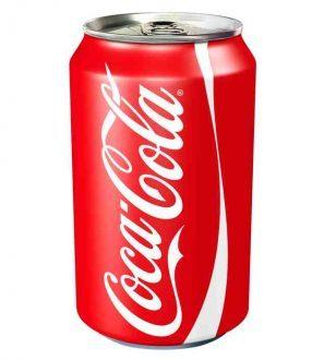 Coca Tin 330Ml