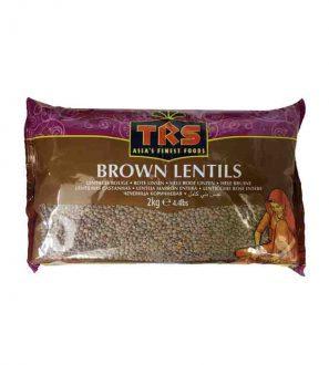 Trs Brown Lentils 2Kg