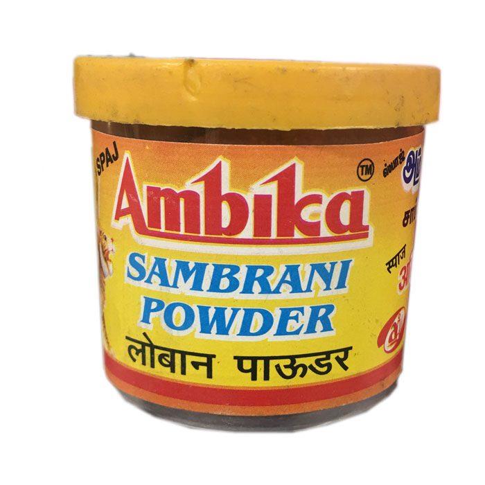 Abmbika Sambrani powder