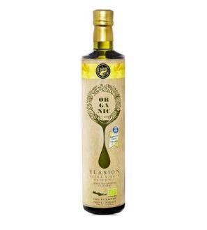 Organic Elasion extra virgin olive oil 750ml